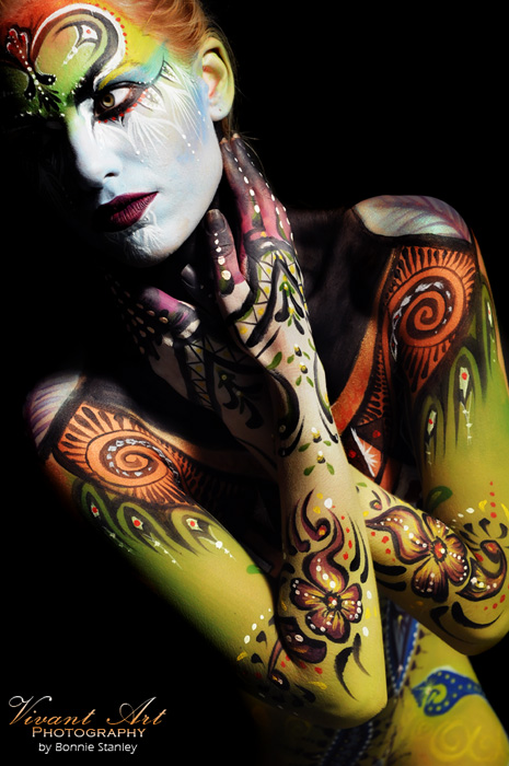 Bodypainting Photography