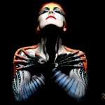 body painting photography